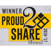 Proud 2 Share Award - Printed Walls