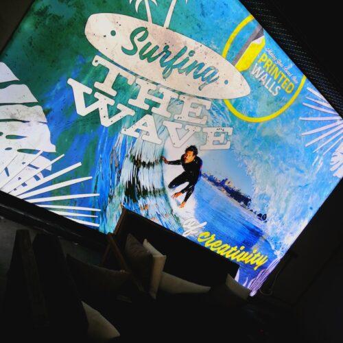 Printed Walls - Surfing muurprint